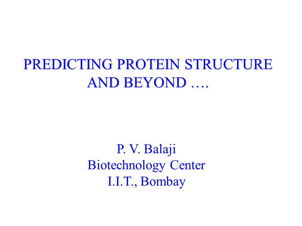 Acknowledgement Organizers for giving me this opportunity Sujatha and Jayadeva Bhat for helping me put together this talk http://guitar.rockefeller.edu/modeller/modeller.html Few Useful Links http://www.biochem.ucl.ac.uk/bsm/cath-new/index.html http://predictioncenter.llnl.gov/ http://insulin.brunel.ac.uk