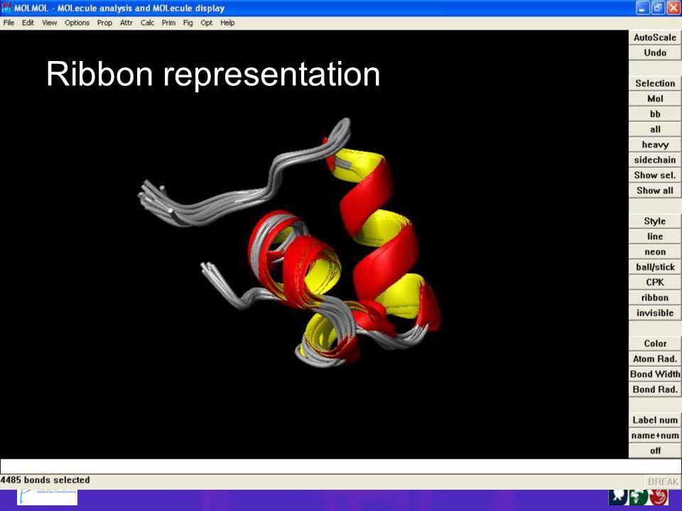 Ribbon representation