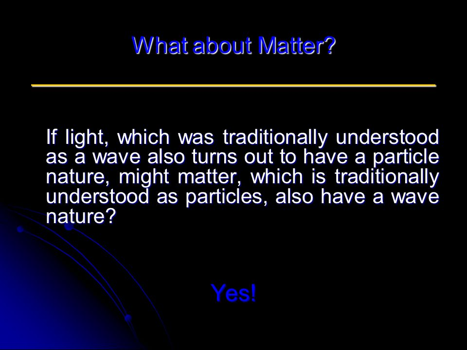 What about Matter.