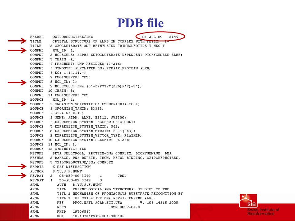 PDB file