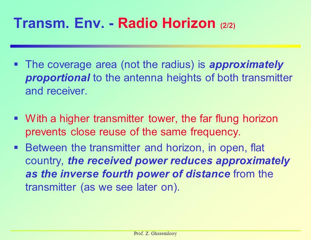 Prof. Z. Ghssemlooy Transm. Env.