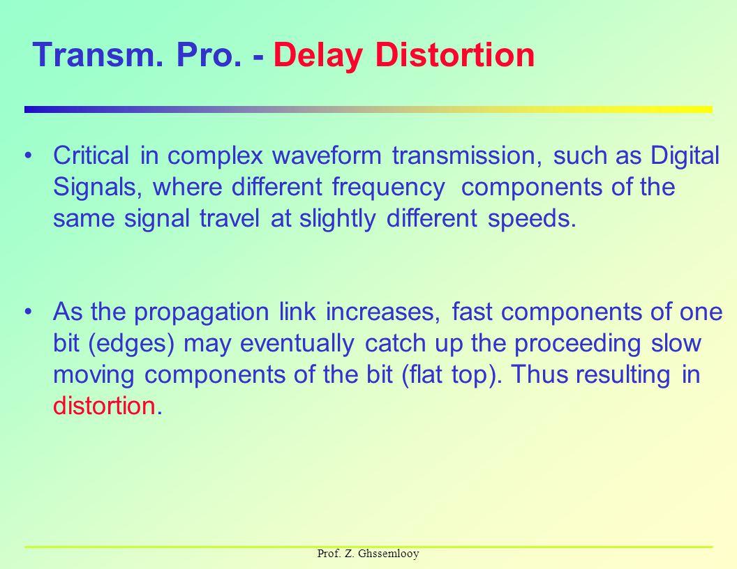 Prof. Z. Ghssemlooy Transm. Pro.