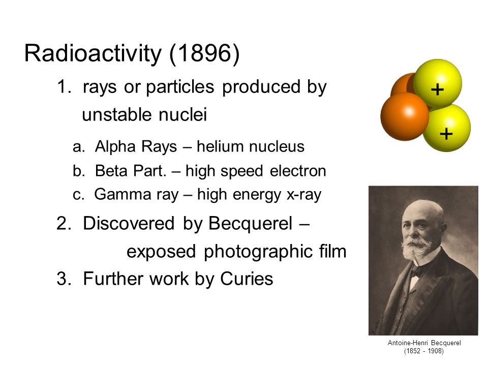 Structure of Atoms Scientist began to wonder what an atom was like. Was it solid throughout with no internal structure or was it made up of smaller, s