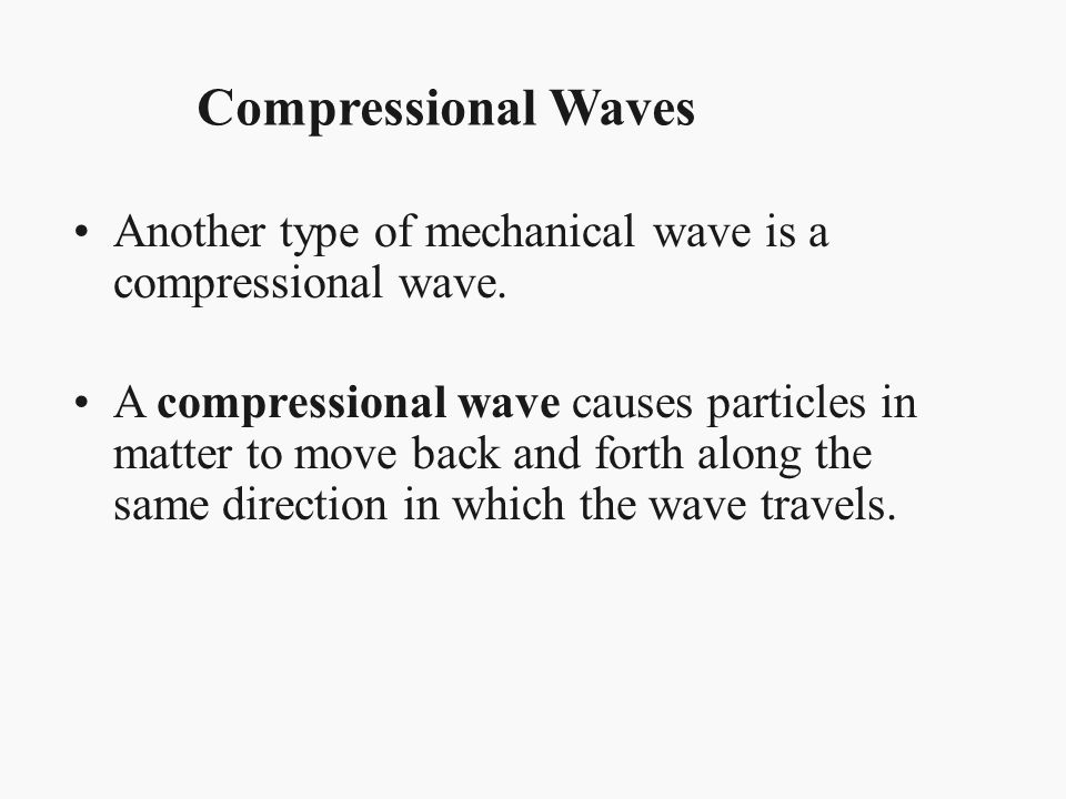 Waves don't always travel in the same straight line.