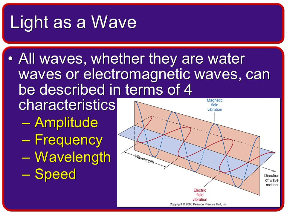 Every element, when excited, emits or absorbs light –If emitted the light contains a unique collection wavelengths –If absorbed the light absorbs the same pattern of wavelengths This gives each element a fingerprint of spectral lines.