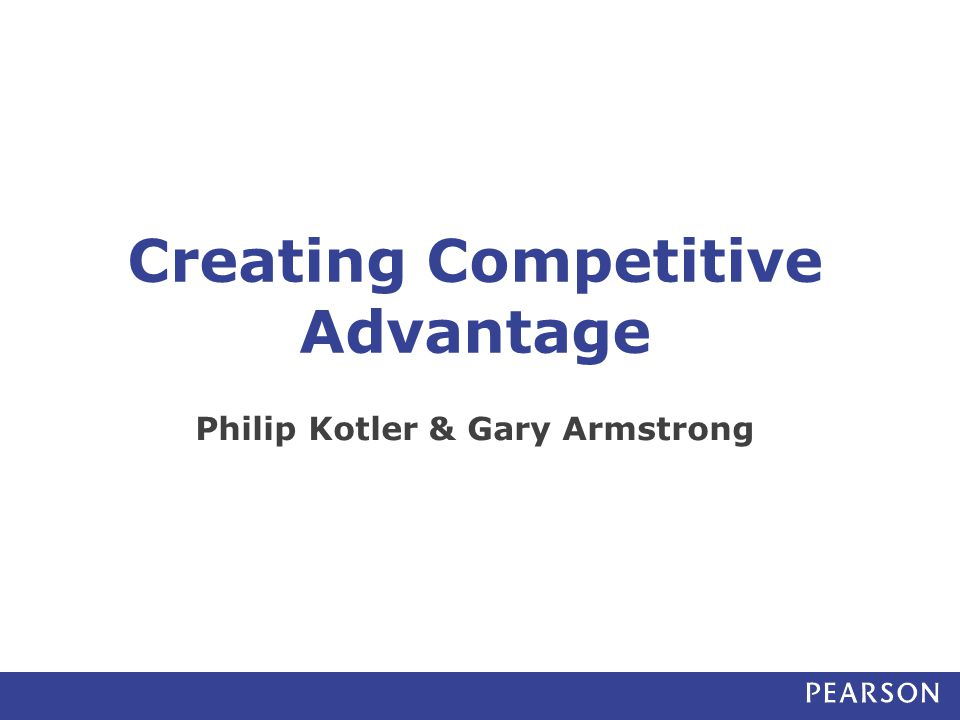 Identifying Competitor's Strategies Companies need to understand the competitor's ability to deliver value to its customers Product quality Product features Customer service Pricing policy Distribution coverage 12 Competitor Analysis Sales force strategy Promotion programs Financial strategies R&D