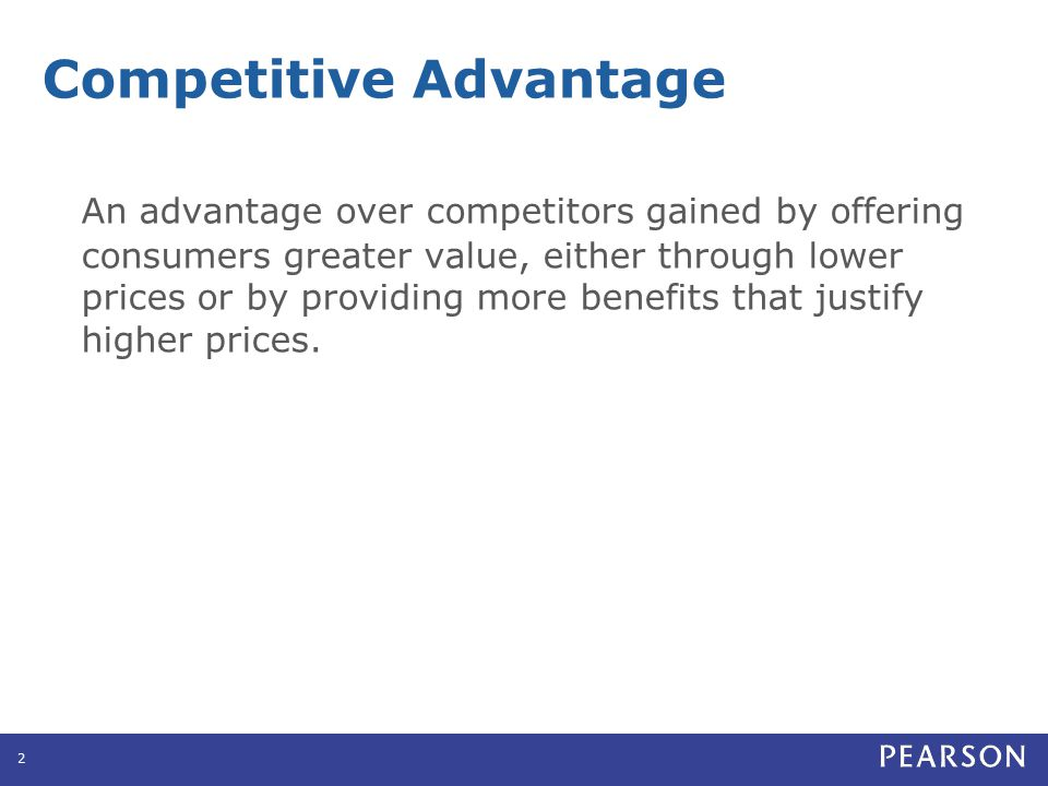 Assessing Competitor's Strengths and Weaknesses Primary data Secondary data Personal experience Word of mouth Benchmarking is the comparison of the company's products or services to competitors or leaders in other industries to find ways to improve quality and performance.