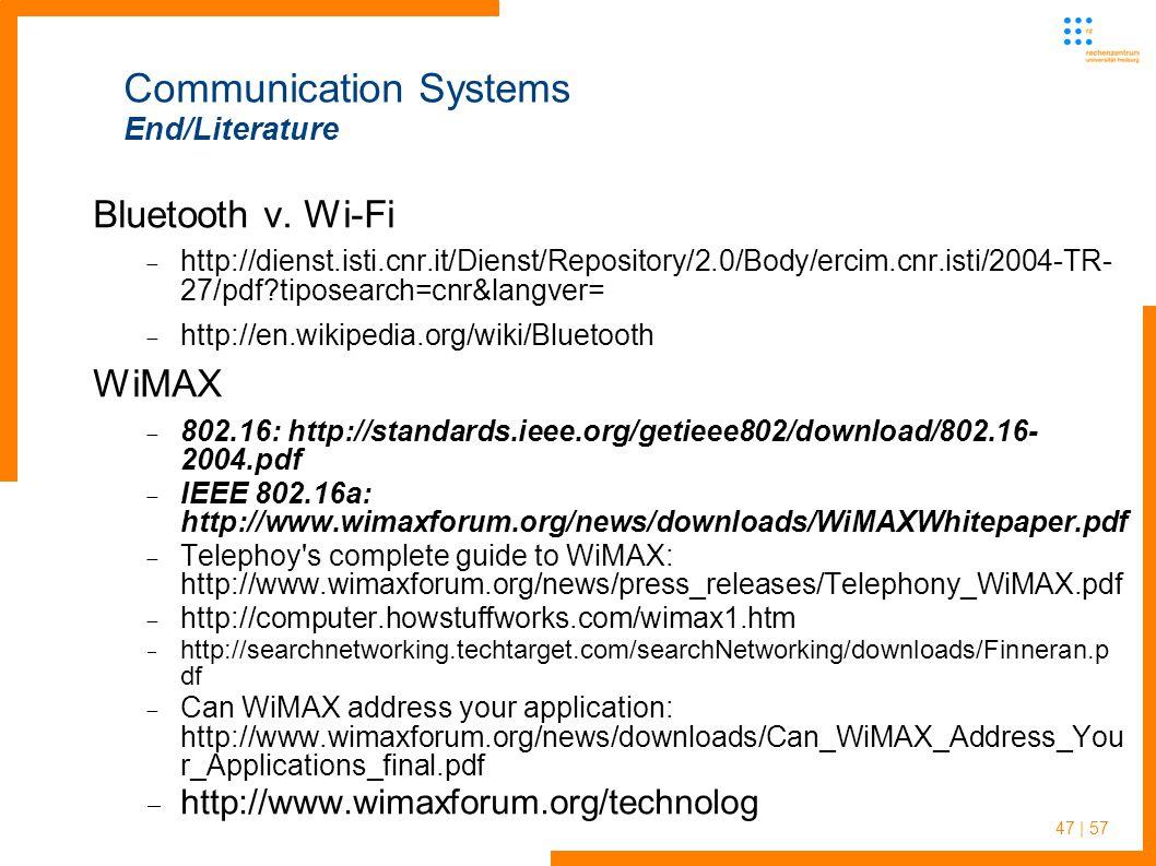47 | 57 Bluetooth v.