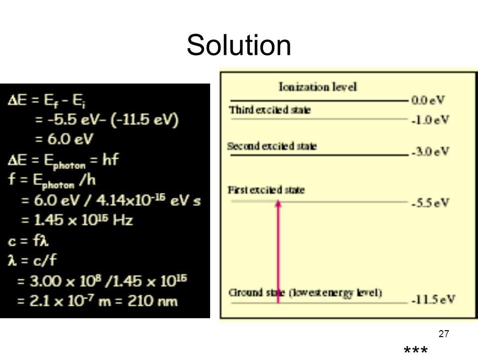 27 Solution ***