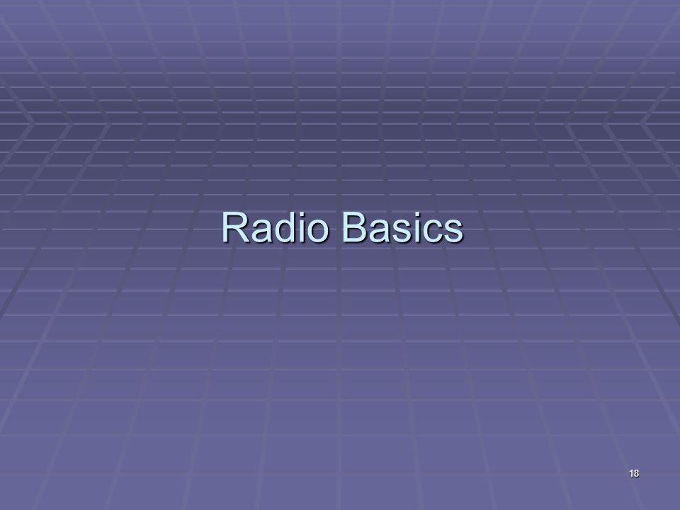 Radio Basics 18