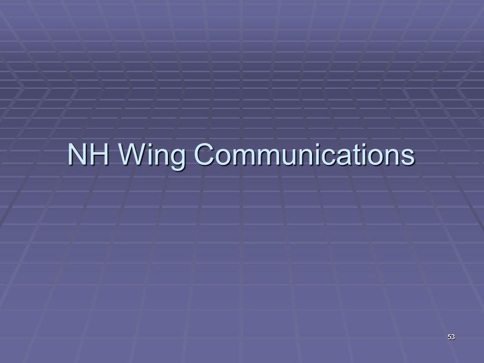 NH Wing Communications 53