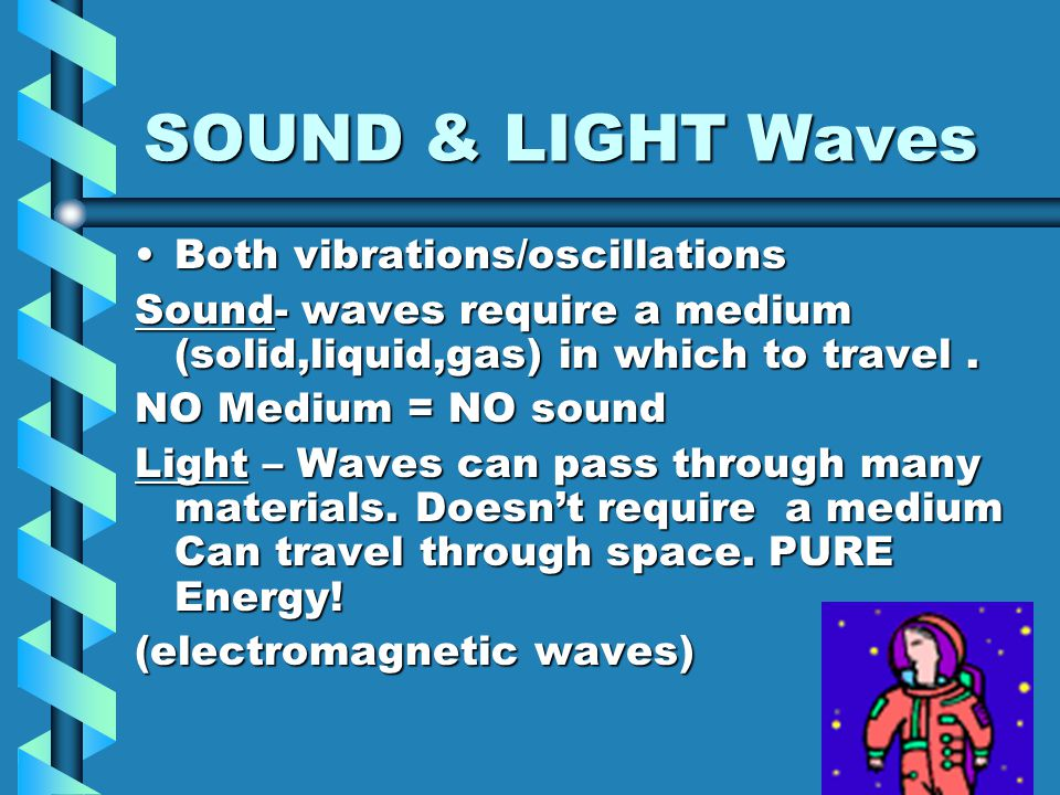 Waves Wave a disturbance or vibration that transfers energy through matter or space.a disturbance or vibration that transfers energy through matter or
