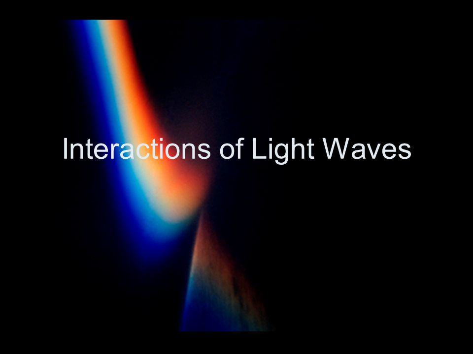 Reflection Reflection occurs when light or any other wave bounces off an object.