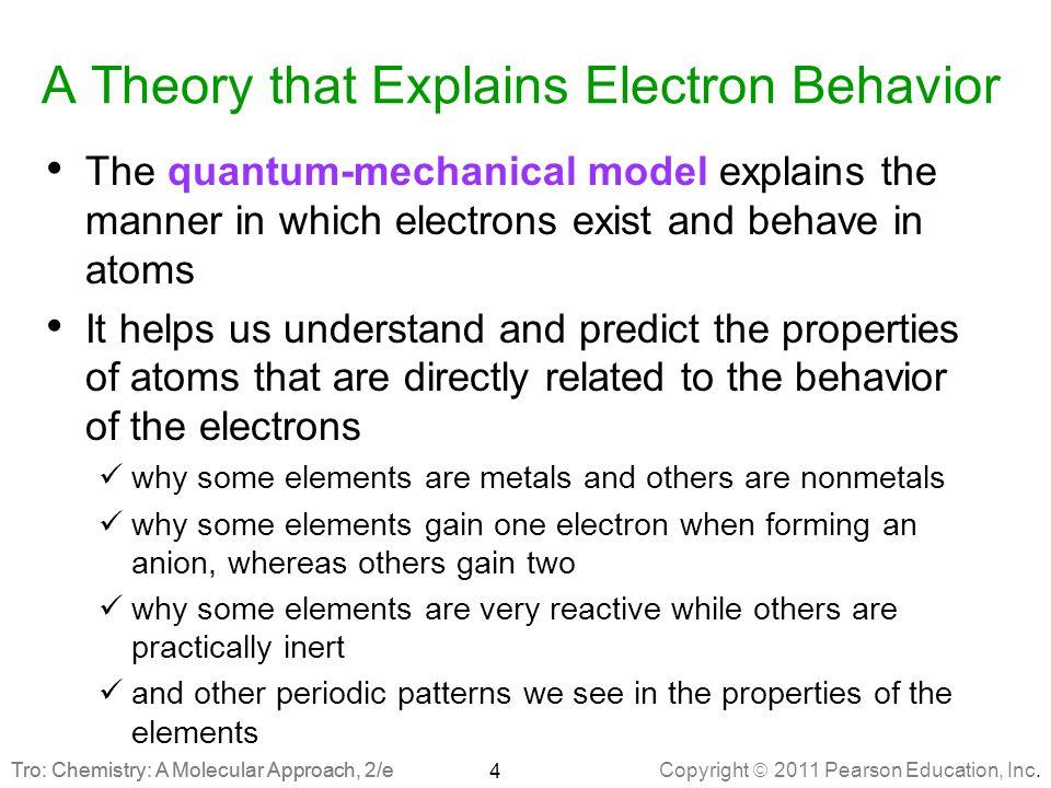 Copyright  2011 Pearson Education, Inc.Tro: Chemistry: A Molecular Approach, 2/e Determinacy vs.