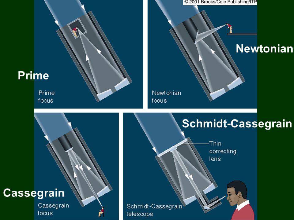 Prime Newtonian Cassegrain Schmidt-Cassegrain