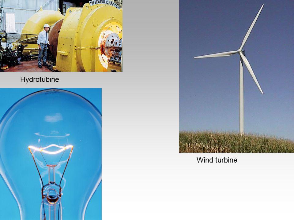 Hydrotubine Wind turbine