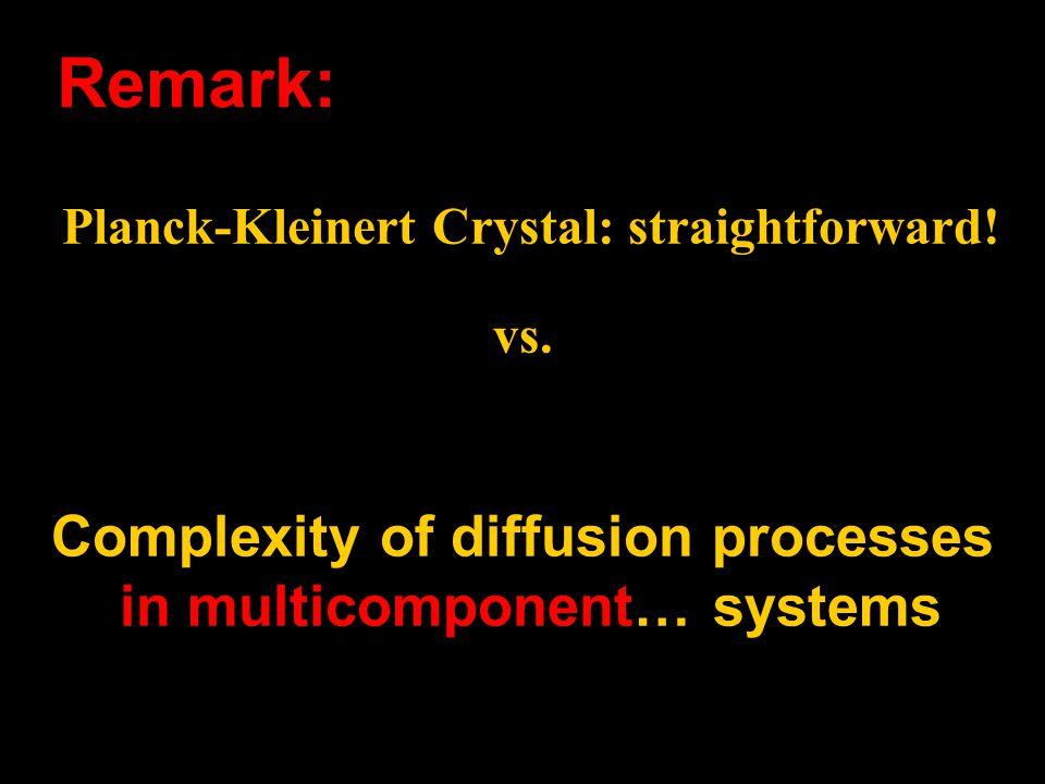 Planck-Kleinert Crystal: straightforward. vs.