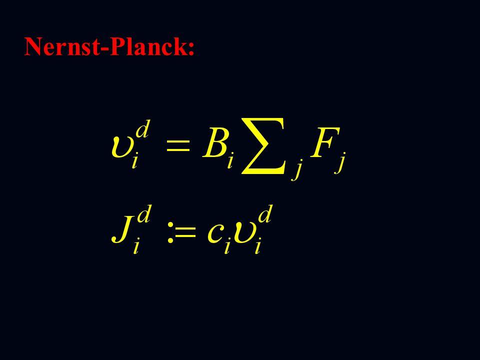 Nernst-Planck: