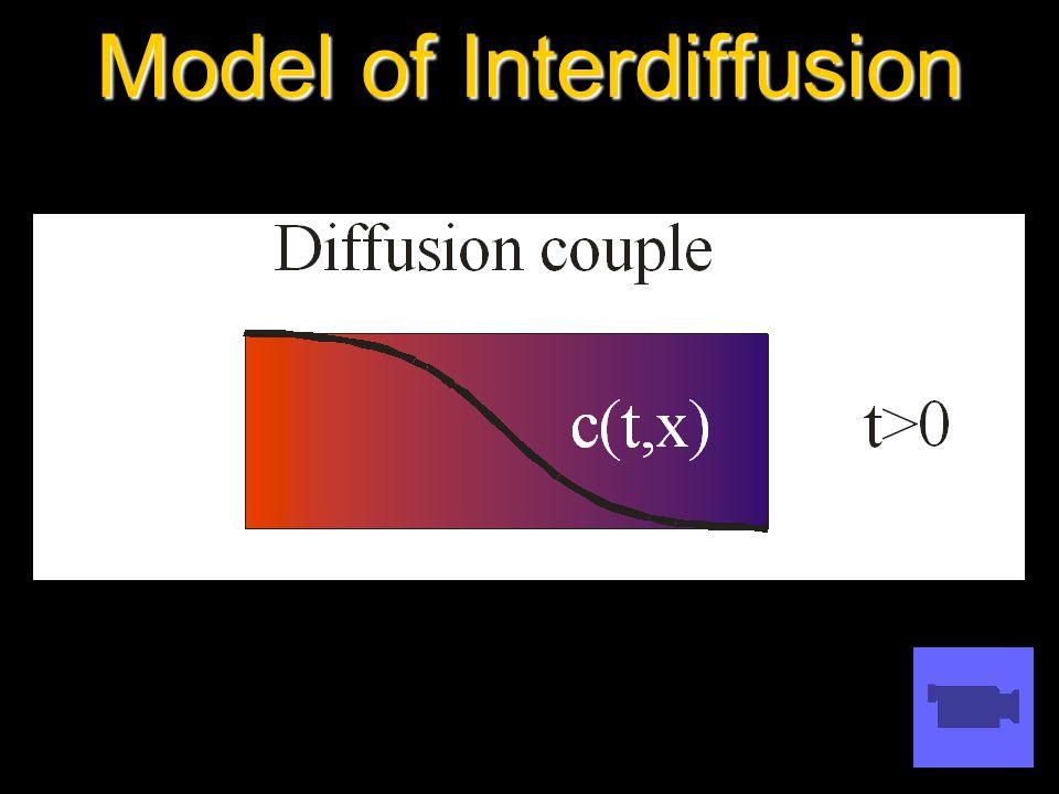 Model of Interdiffusion