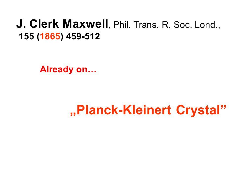 J. Clerk Maxwell, Phil. Trans. R. Soc.