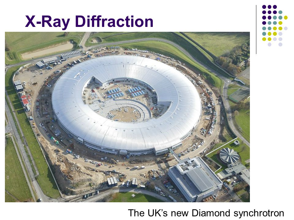 X-Ray Diffraction The UK's new Diamond synchrotron