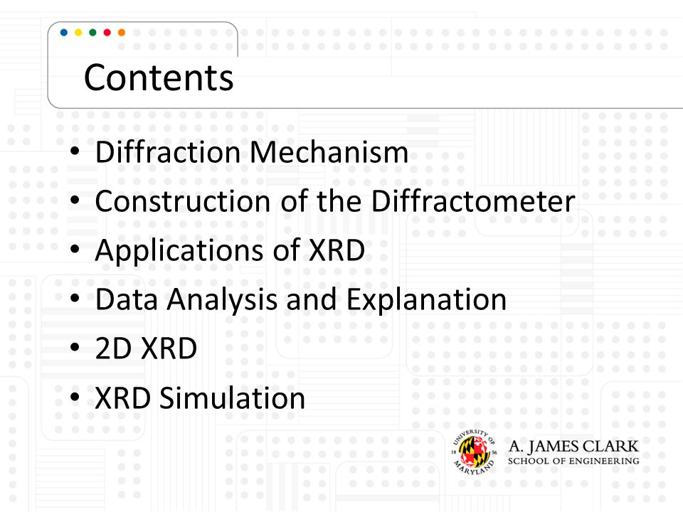 Components Two-dimensional detector, x-ray source, x-ray optics, sample positioning stage, sample alignment and monitoring device as well as corresponding computer control and data reduction and analysis software Image: Bruker Analytical X-ray Systems