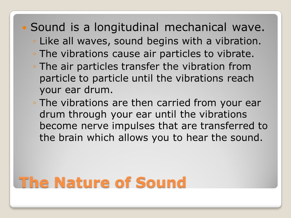 April 20, 2011 Create a vocabulary square for : ◦Loudness