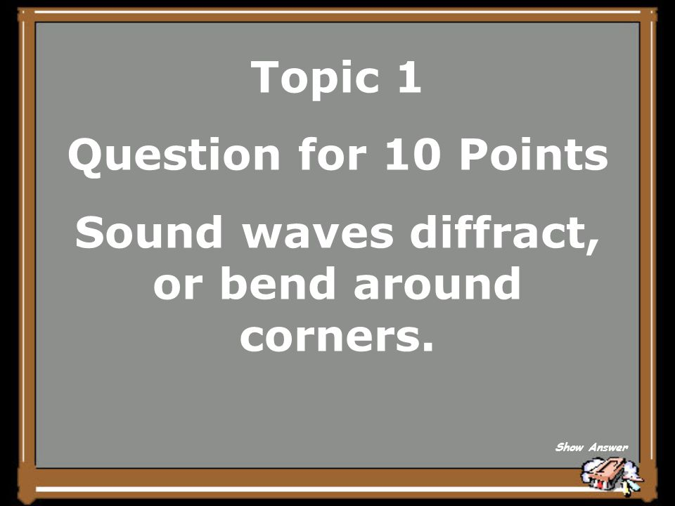Topic 1 Answer for 5 Points What is interference Back to Board
