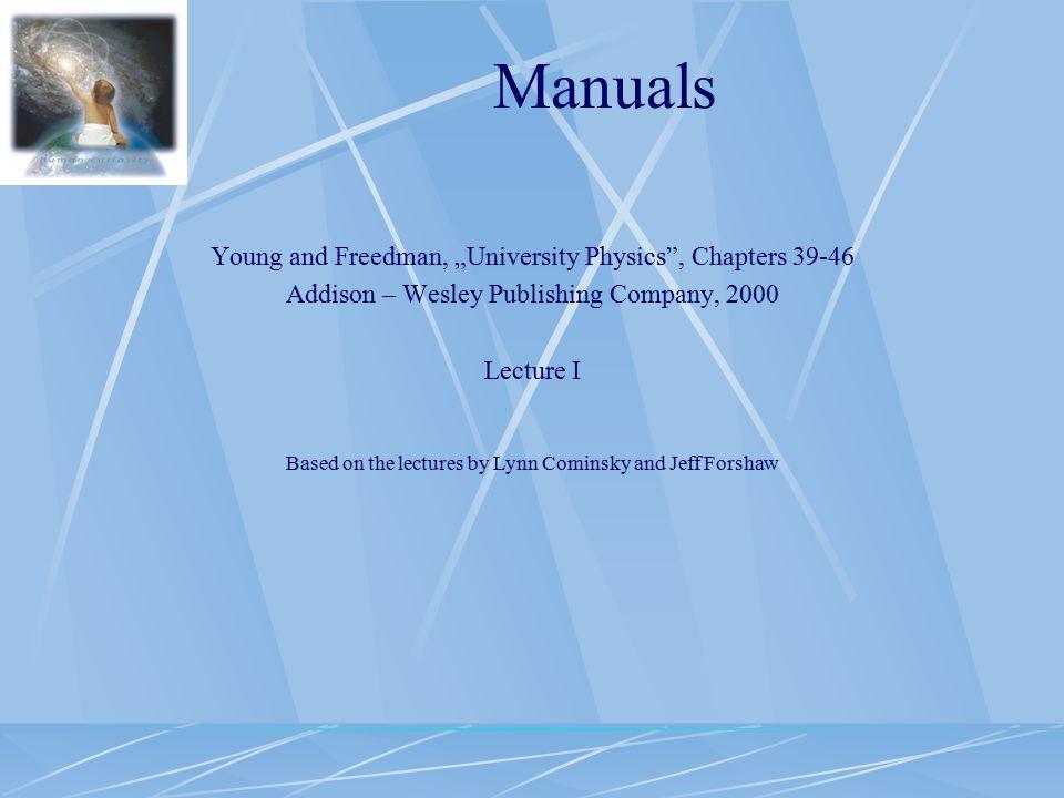 Syllabus Lec 1 Corpuscular- waves dualism of light and matter.