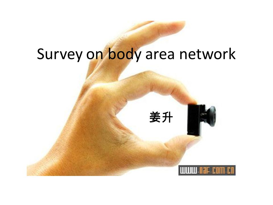 Structure BAN Sensor devices Communication technology PHY Network and MAC Energy Application