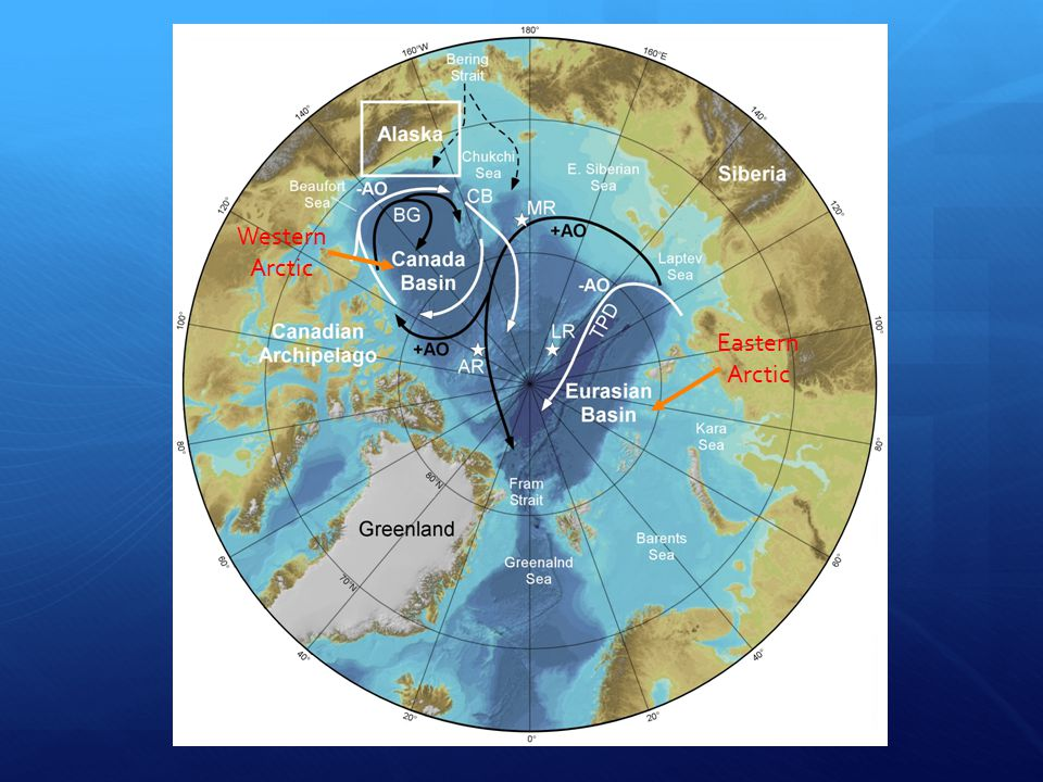 Combined Sea-Ice Components From Darby et al., 2012