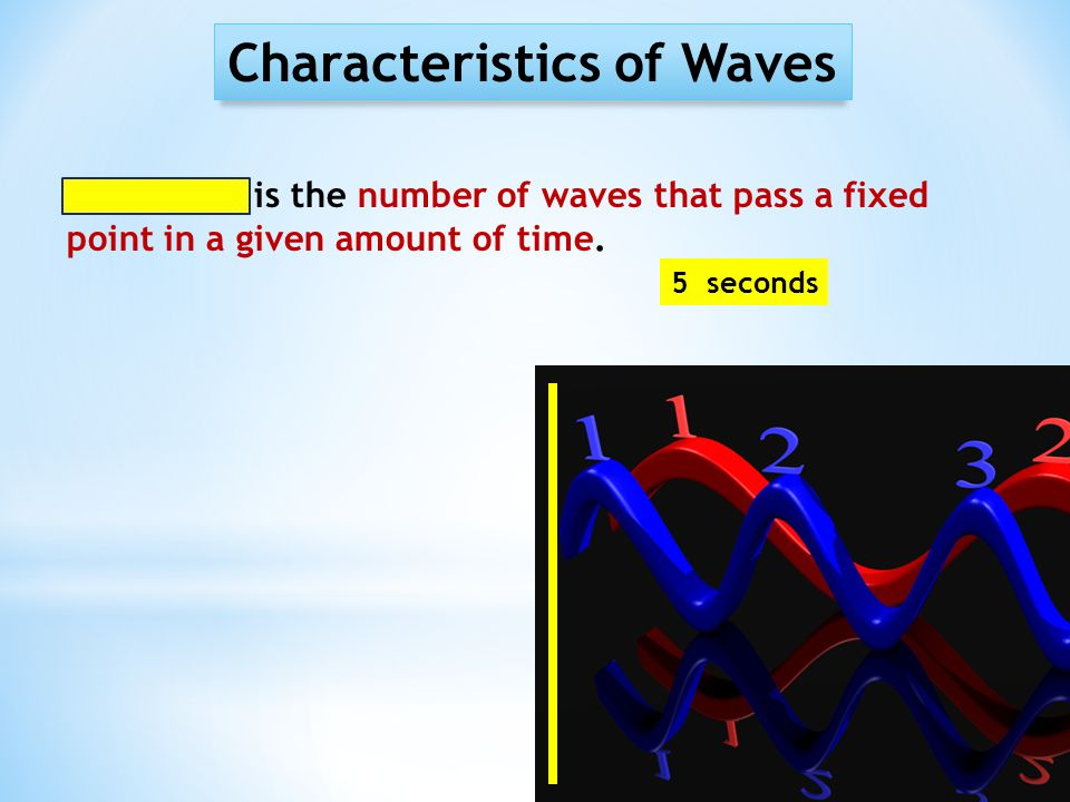 Characteristics of Sound Properties of Sound: SPEED Speed of Sound = the distance that sound travels in a given amount of time.
