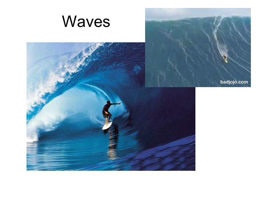 Wave Speed - how fast a wave travels Speed (m/s) = frequency (Hz) x wavelength (m) Greek letter lambda is used to represent wavelength