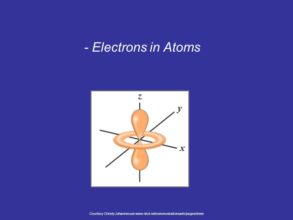 - Electrons in Atoms Courtesy Christy Johannesson www.nisd.net/communicationsarts/pages/chem
