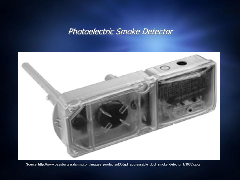 Photoelectric Effect Applications  Photoelectric Detectors In one type of photoelectric device, smoke can block a light beam. In this case, the reduc