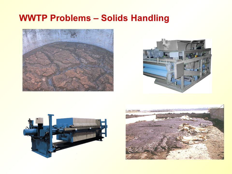 WWTP Problems – Solids Handling