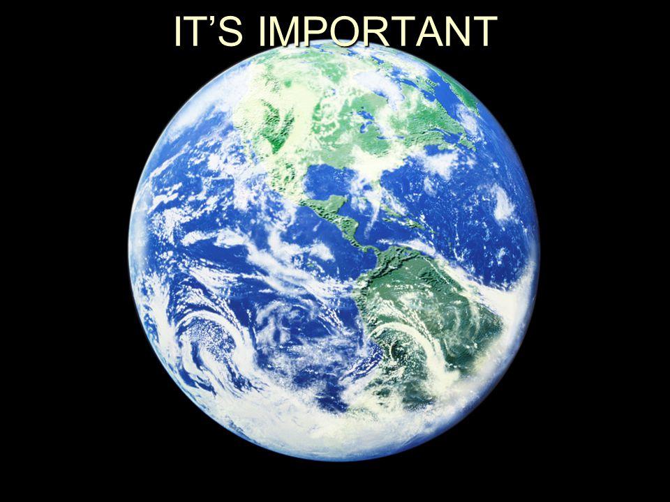 IT'S IMPORTANT