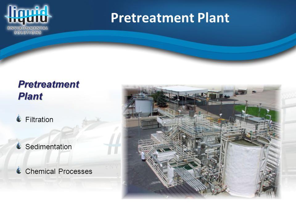 Pretreatment Plant Filtration Sedimentation Chemical Processes