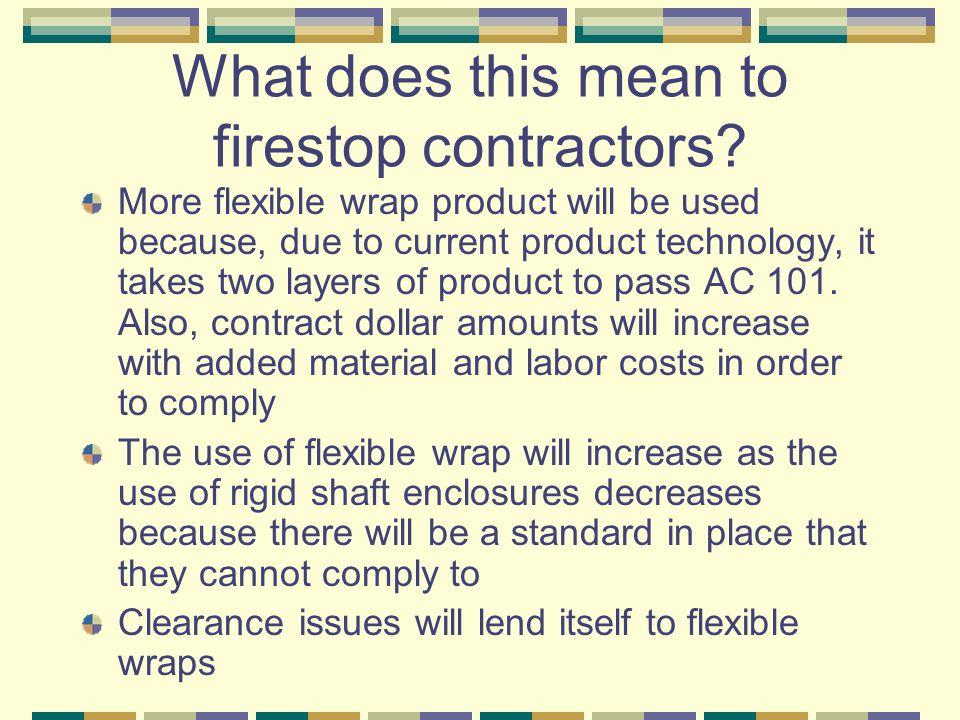 Firestop Contractors Opportunities Markets – Where to look for work.