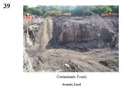 39 Arsenic, Lead Contaminants Found: