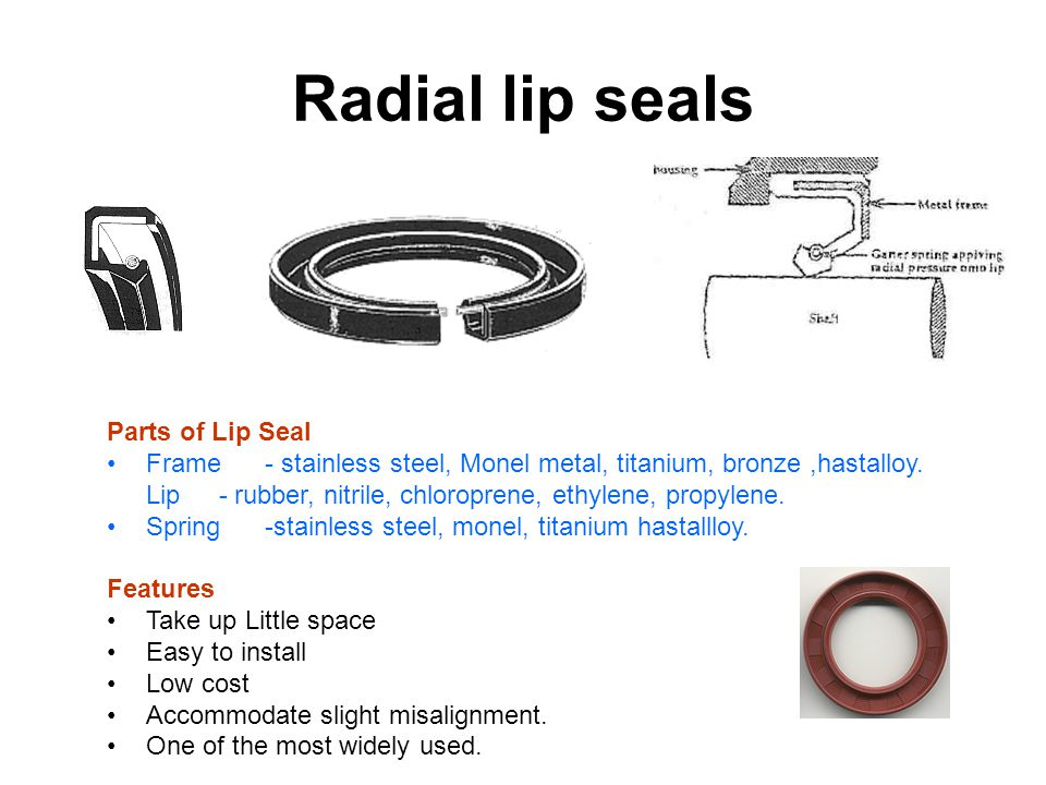 Radial lip seals Parts of Lip Seal Frame - stainless steel, Monel metal, titanium, bronze,hastalloy.