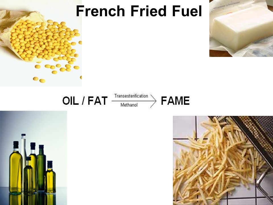 French Fried Fuel