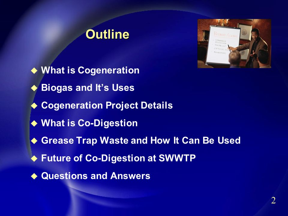 3 What is Cogeneration.