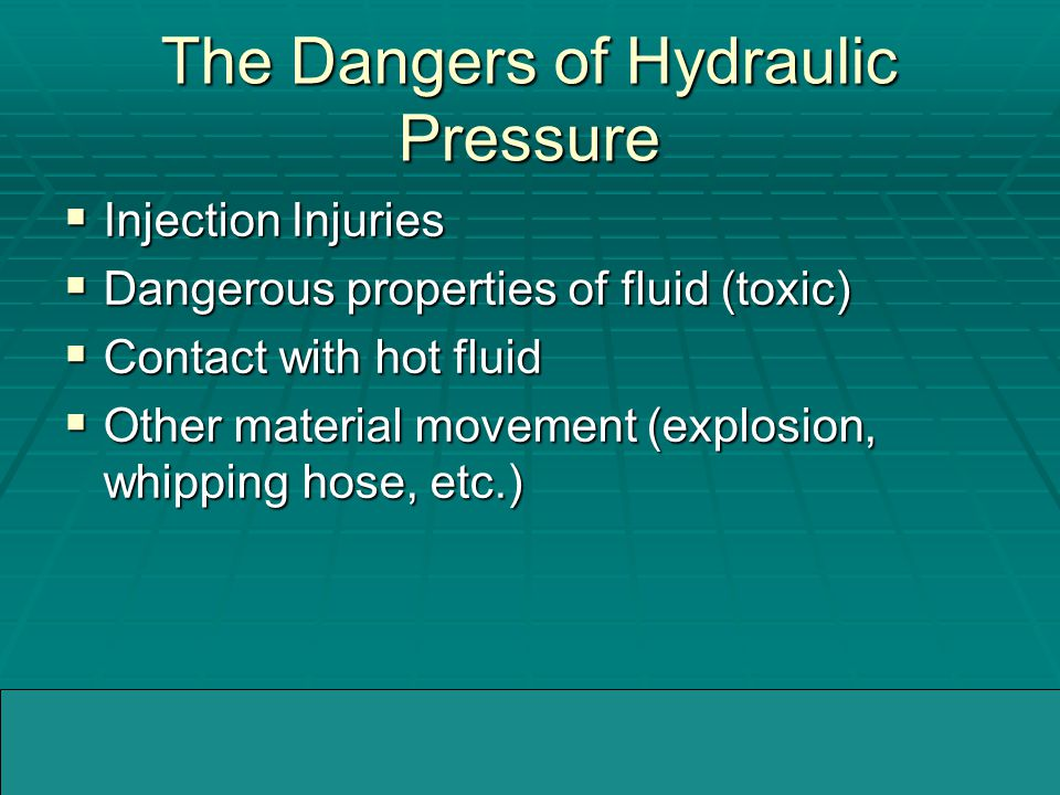 04/05/2005WMMIC High Pressure Injection Injuries