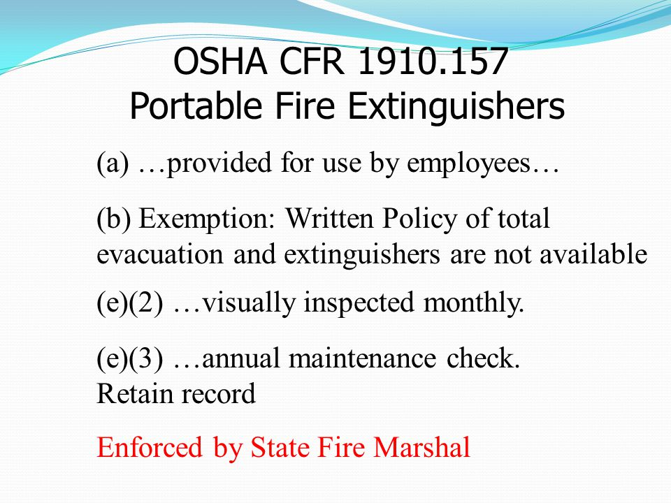 Fighting Small Fires (INCIPIENT) Extinguishers Have Limits Extinguisher Location The Proper Extinguisher Remember the PASS-Word Grease and Oil Fires Subjects: