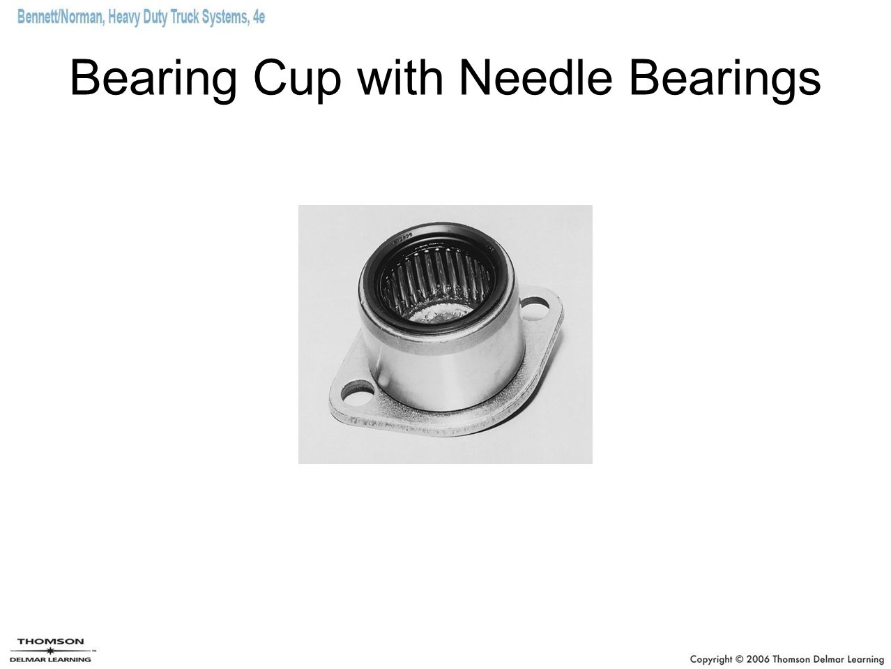 Bearing Cup with Needle Bearings
