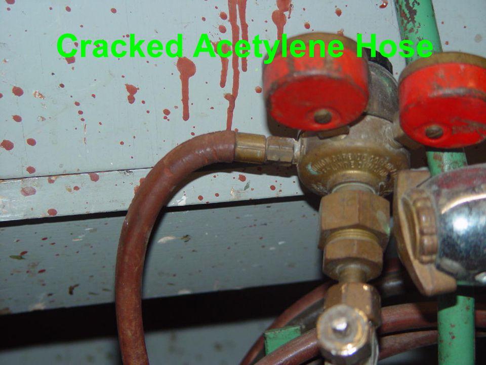 Cracked Acetylene Hose