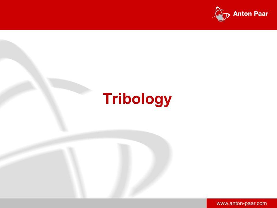 www.anton-paar.com Tribology