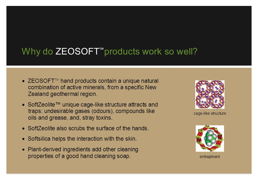 Why are ZEOSOFT products better for you.