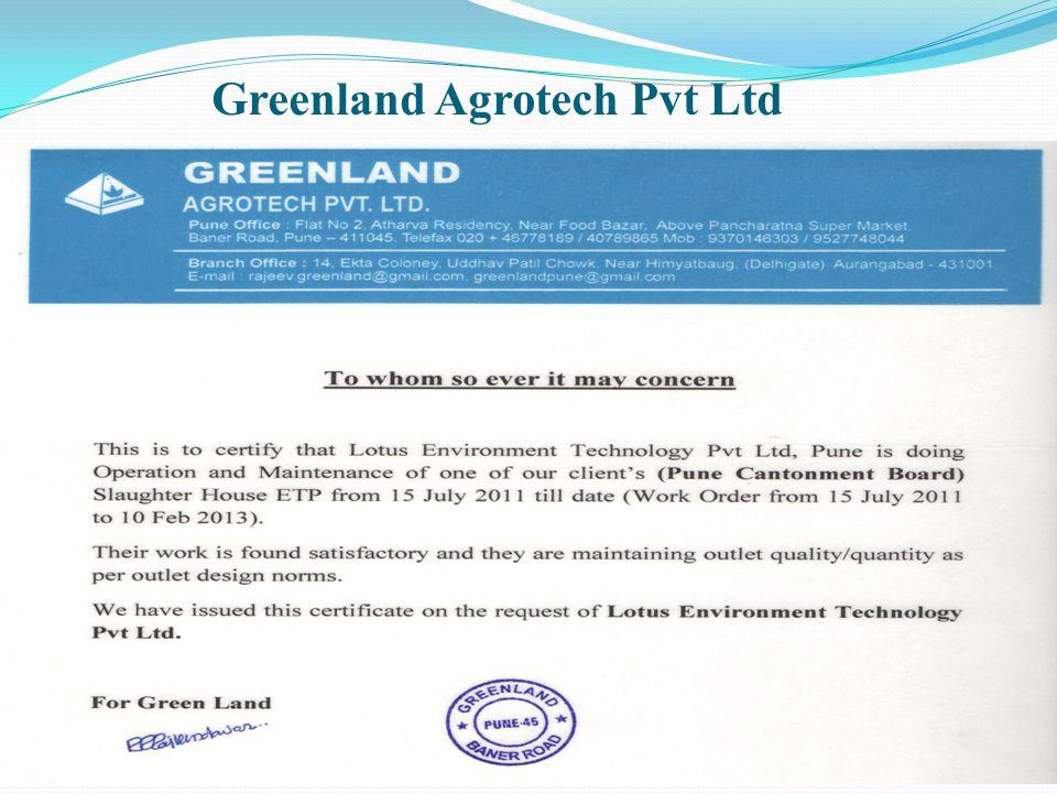 Greenland Agrotech Pvt Ltd